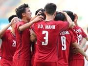 Medios de prensa japoneses aprecian éxitos del equipo vietnamita de fútbol en ASIAD18