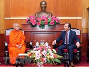 Laos y Vietnam buscan promover conexión budista