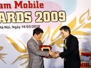 Premio a Mobifone red de móviles favorita