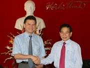 Presidente recibe a dirigente de Kalmukia