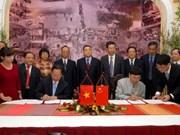 Viet Nam y China firman memorando cooperativo