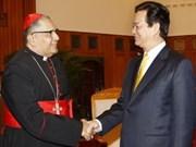 VN-el Vaticano: Refuerzan nexos