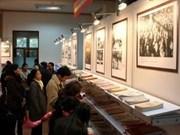 Exposición de libros en saludo al XI Congreso del PCV