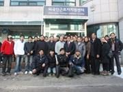 Visitan a trabajadores vietnamitas en Sudcorea por el Tet