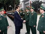 Dirigentes realizan visitas por el Tet