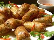Comida vietnamita en festival gastronómico en la India