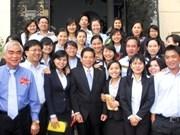 Dirigentes efectúan visitas primaverales