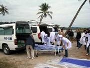 Resarcen víctimas del naufragio en Bahía Ha Long