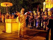 Reproducción de ritual real en Hue