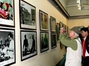 Presentan exposición fotográfica sobre el general Giap