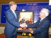 Príncipe holandés visita Ciudad Ho Chi Minh