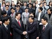 Primer ministro con electores locales