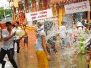 Felicitación por Nuevo Año Khmer