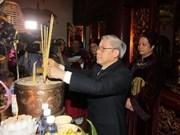 Dirigentes vietnamitas honran a Reyes Hung