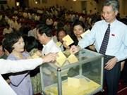 Presentan candidatos a comicios parlamentarios