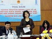 Esfuerzos vietnamitas para aumentar número de diputadas