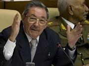 Raúl Castro electo primer secretario del PCC