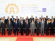 Comienza conferencia anual de ADB en Viet Nam