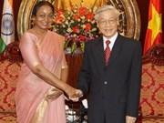 Viet Nam y la India fomentan relaciones
