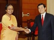 Presidenta de Cámara Baja india culmina visita a Viet Nam