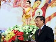 Celebran en Viet Nam aniversario de natalicio de Buda