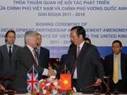 Apoyo británico a Viet Nam en ODM