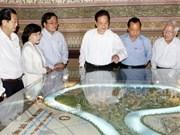 Premier vietnamita en visita de trabajo en ciudad sureña