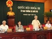 Reunión sobre elecciones parlamentarias