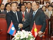 Intensifican cooperación Viet Nam y Laos