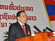 Felicitaciones a reelectos dirigentes de Laos