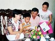 Conmemoran Día de la Familia de VN