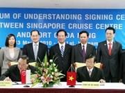 Intensifican Viet Nam y Singapur cooperación económica