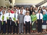 Viet Nam y Laos fomentan relaciones tradicionales