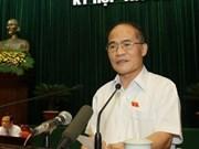 Nguyen Sinh Hung, nuevo presidente del Parlamento vietnamita
