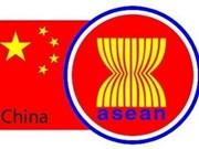 Avanza comercio ASEAN-China
