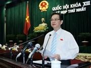 Premier vietnamita presenta estructura organizativa del Gobierno