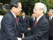 Viet Nam y Laos abogan por fortalecer sus relaciones