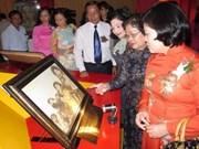 Exposición de pinturas sobre general Vo Nguyen Giap