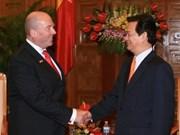Recibe premier vietnamita al embajador alemán