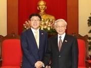 Intensifican Viet Nam y Sudcorea cooperación partidista