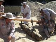 Cooperan Viet Nam y Camboya en la limpieza de minas