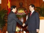 Premier vietnamita recibe embajador indonesio