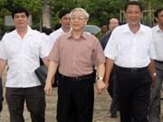 Efectúa máximo dirigente visita de trabajo a Kien Giang