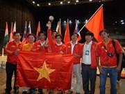 Viet Nam, medalla de bronce en concurso de robocon