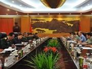 Viet Nam y China fomentan cooperación militar