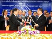 Firman Viet Nam y Laos plan de cooperación cultural