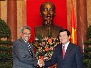 Recibe presidente vietnamita a invitados de Sri Lanka