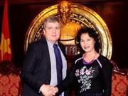 Fortalecen Viet Nam e Irlanda relaciones parlamentarias
