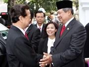 Viet Nam e Indonesia intensifican relaciones