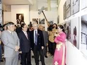 """Apertura de la exposición """"Wilfred Burchett con Viet Nam"""""""